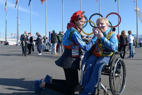 Tutto pronto per le Paralimpiadi invernali di Sochi (Foto: Ria Novosti)