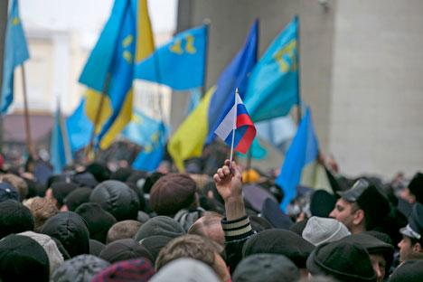 Di fronte agli avvenimenti che stanno scuotendo l'Ucraina, ci si interroga sull'efficacia dei meccanismi di risoluzione della crisi (Foto: Reuters)