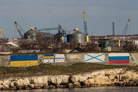 Secondo un sondaggio realizzato nel 2004, il 97% della popolazione in Crimea utilizzerebbe il russo per comunicare (Foto: Sergej Savostjanov / Rossijskaja Gazeta)