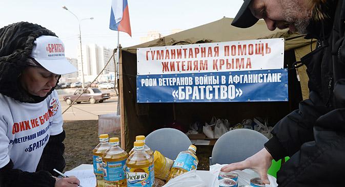 Uno dei problemi principali della Crimea potrebbe essere l'approvvigionamento idrico (Foto: Kallinikov / RIA Novosti)