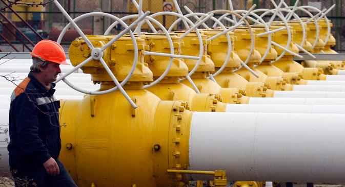 Se Gazprom interrompesse l'immissione di gas nel gasdotto ucraino, perderebbe un terzo delle entrate che le derivano dall'export (Foto: Reuters)