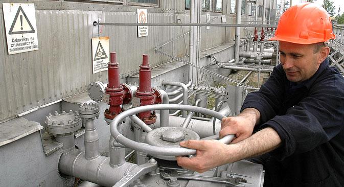 Fonti vicine a Gazprom hanno assicurato che per ora le forniture di gas russo che attraverso l'Ucraina transitano verso l'Europa non sono a rischio (Foto: Itar Tass)