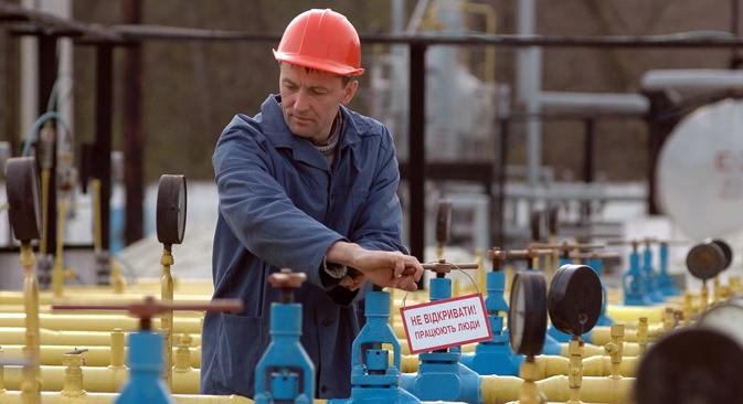 A fine marzo Gazprom e Naftogaz dovranno rivedere il prezzo del gas e Kiev rischia di perdere il diritto allo sconto ottenuto dallo scorso gennaio (Foto: Itar Tass)