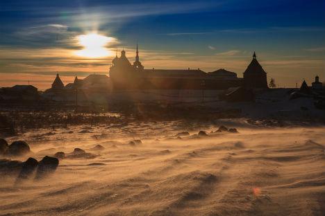 Una giornata d'inverno in Russia (Foto: Dmitri Porechniy)