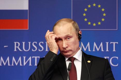 Il Presidente russo Vladimir Putin (Foto: AP)