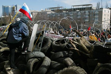 La preoccupazione principale del Ministero degli Esteri Russo sta nel fatto che, per disperdere le manifestazioni, possano essere impiegati uomini appartenenti a compagnie militari private americane (Foto: AP)