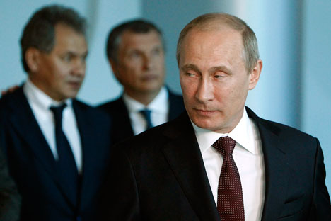 """Il Ministero degli Esteri russo ha avvertito che la risposta di Mosca alla decisione di Washington potrebbe essere """"dolorosa"""".Nella foto, il Presidente russo Vladimir Putin (Foto: Reuters)"""