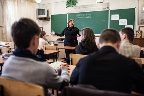 Secondo un sondaggio realizzato nel 2010 dal Research & Branding Group, il 65 per cento degli abitanti è di madrelingua ucraina, contro il 33 per cento di madrelingua russa (Foto: Sergei Savostianov/RG)