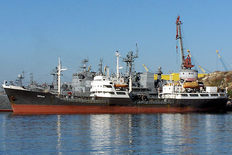 Tartus is being used as a logistics facility for Russian ships.