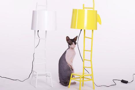 Le lampade di Vladimir Ivanov (Foto: www.russiandesignpavilion.com)