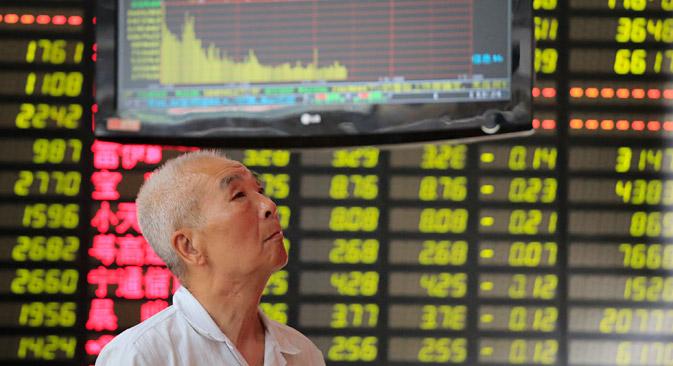 Le società russe Rosneft e Gazprom ancor prima della crisi del 2008 avevano espresso il loro interesse nei confronti della Borsa di Shanghai quale sede per le proprie quotazioni (Foto: AP)