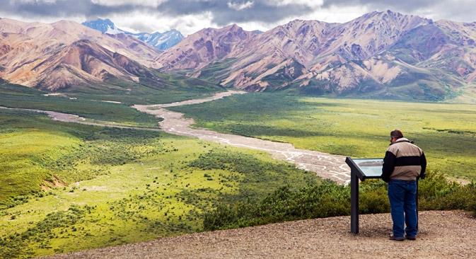 Nel 19° secolo, l'Alaska era un centro di commercio internazionale. Qui venivano costruite navi e veniva estratto il carbone. Inoltre c'erano numerosi giacimenti d'oro (Foto: Alamy / Legion Media)