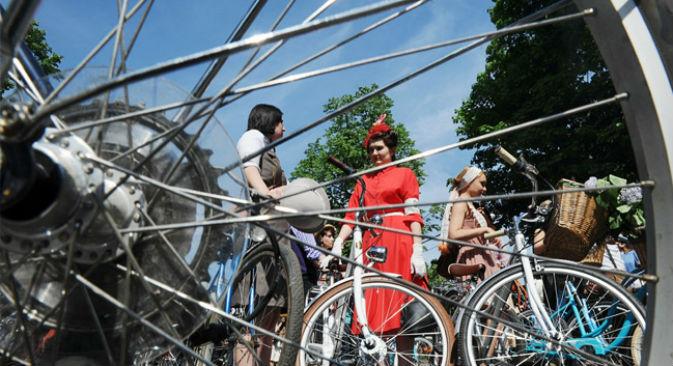 Com a volta do calor ao país, a Gazeta Russa selecionou uma programação cultural ao ar livre  Foto: RIA Nóvosti