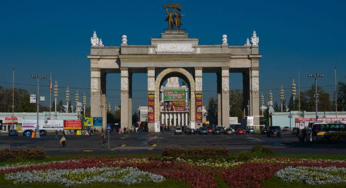 Após a queda da União Soviética, a VDNKh caiu em desuso Foto: Alamy / Legion Media