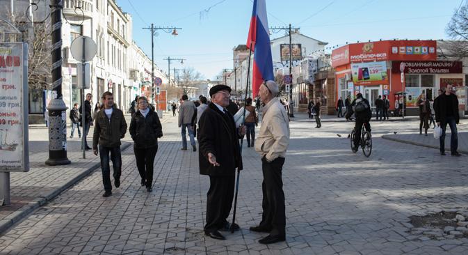 Cittadini della Crimea (Foto: Sergei Savostianov/RG)