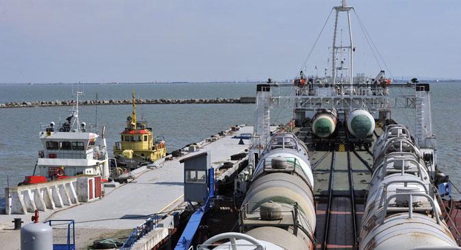 La capacità del nuovo gasdotto potrebbe raggiungere i 10 miliardi di metri cubi l'anno (Foto: Itar Tass)