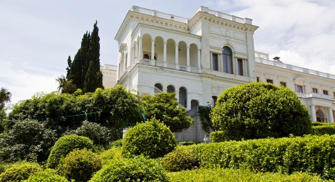 Palazzo Livadia è una delle residenze più lussuose della Crimea (Foto: Lori/Legion Media)