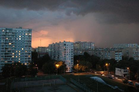 Appartamenti nella periferia di Mosca (Foto: archivio personale)