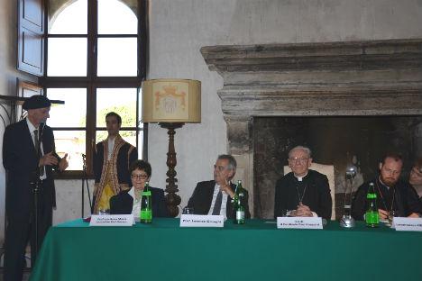Un momento della conferenza (Foto: Ekaterina Soboleva)