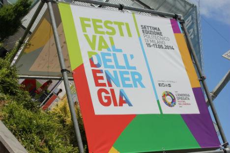 A Milano al Festival dell'Energia (Foto: Alex Salin)