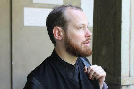 Monsignor Philip Riabykh, rappresentante della Chiesa ortodossa russa al Consiglio d'Europa (Foto: Evgeny Utkin)
