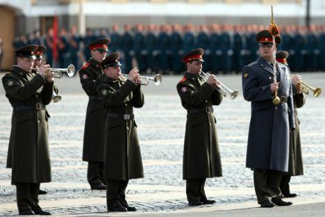 Parata per festeggiare il Giorno della Vittoria (Foto: Igor Russak / Ria Novosti)