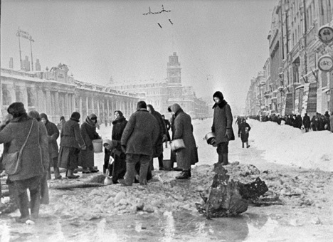 Assedio di Leningrado (Foto: Ria Novosti)