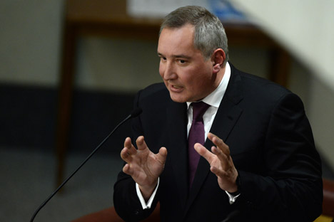 "Russian Deputy Prime Minister Dmitry Rogozin:  ""There will always be sanctions against us."""