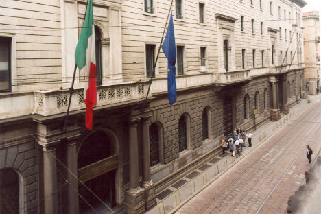 """Palazzo Turati, sede della Camera di commercio di Milano dove si svolgerà il convegno """"Moscow-Milan 2014 – Challenges, decisions and prospects"""" (Foto: Ufficio Stampa)"""
