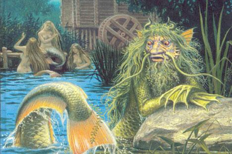 Il vodyanoy, il re del regno subacqueo (Foto: Fonte libera)