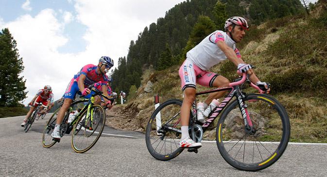 La squadra russa Katusha è accreditata dagli addetti ai lavori come una delle favorite del Giro (Foto: Reuters)