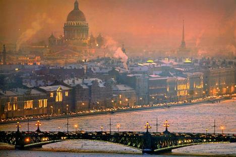 Veduta aerea di San Pietroburgo (Foto: Alexander Petrosyan)