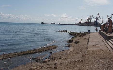 Il porto di Feodosia (Foto: Wikipedia)