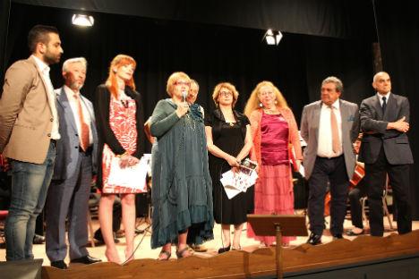 Un momento della premiazione (Foto: ufficio stampa)