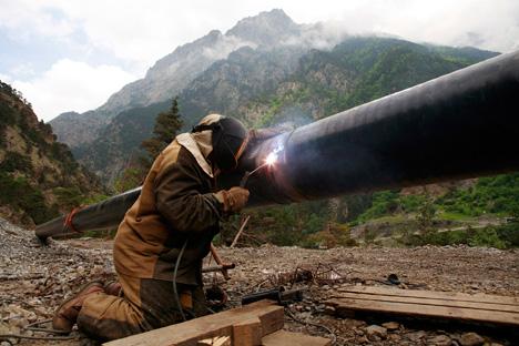 """Come ha ufficialmente dichiarato il ministro dello Sviluppo economico, le risorse potrebbero essere utilizzate anche per finanziare la costruzione del gasdotto """"Potere della Siberia"""" (Foto: Reuters)"""