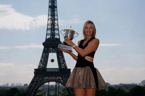 Sharapova não cumpre plano de treinamento para os jogos nem analisa suas partidas Foto: Reuters