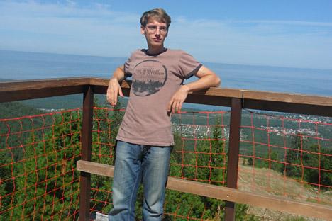 Ivan, 30 anni, da 8 anni ha deciso di trasferirsi in campagna (Foto: archivio personale)