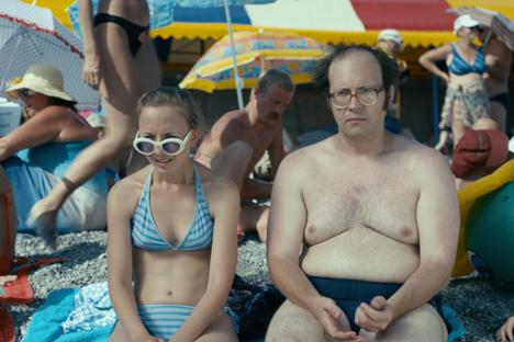 """Una scena tratta dalla pellicola """"Chapiteau-show"""", un film su un variopinto gruppo di persone che va in vacanza in Crimea (Foto: Itar Tass)"""