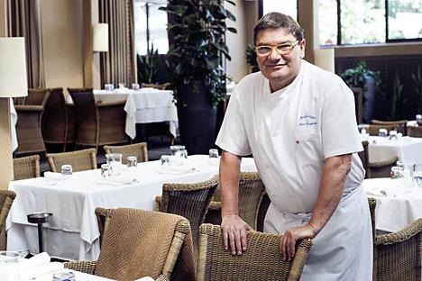 Lo chef italiano Nino Graziano seguirà la nazionale russa per i Mondiali di calcio (Foto: unione russa di calcio)