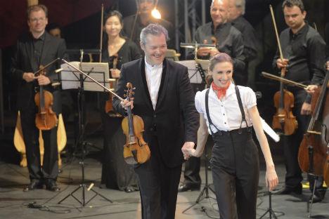 Svetlana Zakharova e Vadim Repin (Foto: Pierluigi Abbondanza)