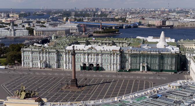 Il museo Emitage di San Pietroburgo (Foto: Ria Novosti)