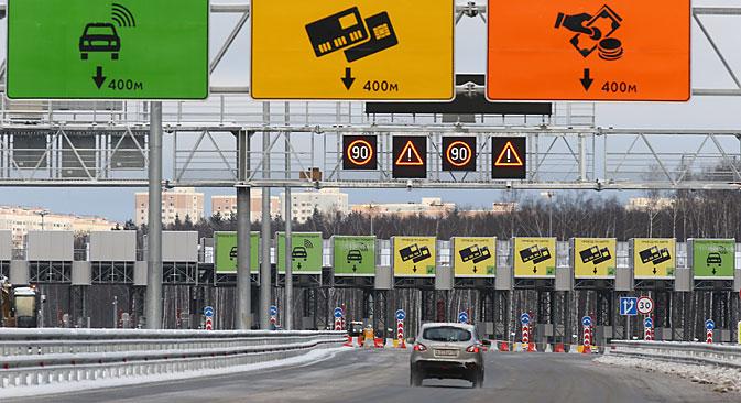 Imprese straniere partecipano alla costruzione di nuove strade a pagamento (Foto: Itar Tass)