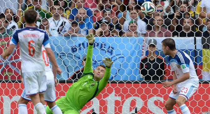 Con un gol di Origi a due minuti dalla fine, il Belgio batte la Russia e si qualifica agli ottavi di finale (Foto: Ria Novosti)