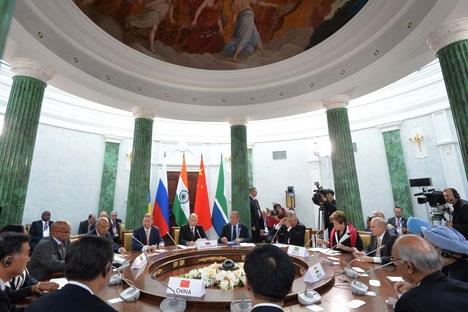 I membri dei paesi Brics (Foto: AFP/East News)