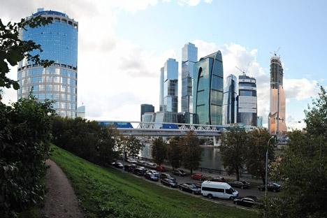 Uno scorcio della City di Mosca (Foto: Aleksandr Katchlaev/RIA Novosti)