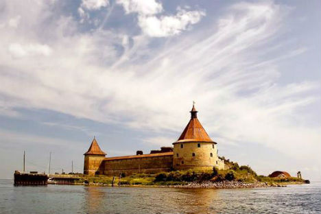La fortezza di Shlisselburg (Credit: Lori Images, Legion Media)