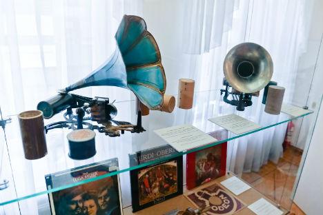 """La mostra """"Giuseppe Verdi, Musica e cultura"""", fino al 31 agosto nella tenuta-museo Shalyapin di Mosca (Foto: ufficio stampa / Ambasciata italiana a Mosca)"""