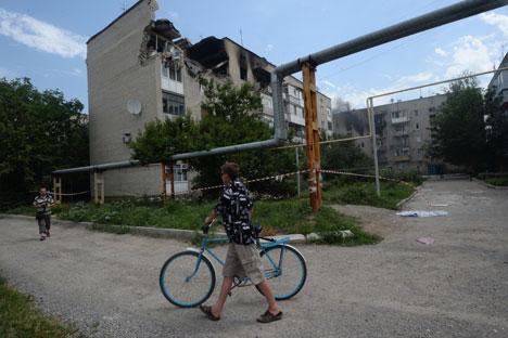 Dall'inizio della crisi in Ucraina, questa è la prima volta che si registrano vittime nel territorio della Federazione Russa (Foto: Ria Novosti)