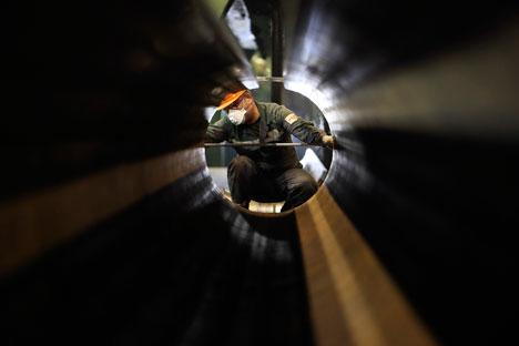 Nel 2013 l'Ungheria ha comprato da Gazprom Export 6 miliardi di metri cubi di gas, transitati attraverso il gasdotto ucraino (Foto: Reuters)
