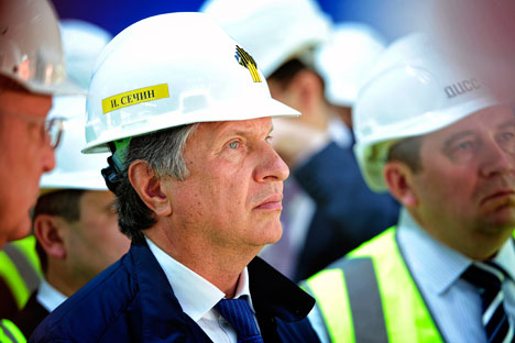 Igor Sechin, capo di Rosneft (Foto: Itar Tass)